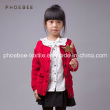 100% Wool Knitted Winter Clothing Kids Clothes for Girls