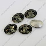 Black Diamond Fancy Crystal Stones Beads