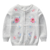 Baby Girl Products Children Fashion Sweater Baby Girl Craft Flower Dress Child Clothing Baby Wear Garment Children′s Apparel Wholesale Kids Children Wear