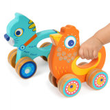 2018 Newest Design Wooden Baby Bobo Push Car Toy