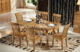 Solid Wooden Dining Table Living Room Furniture (M-X2389)