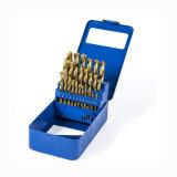 Drill Bit Set, 29-Piece Titanium Twist Drill Bits Kit, 1/16-Inch to 1/2-Inch with Durable Metal Case