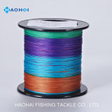 X4 1000m Competitive Price Good Quality Super Strong PE Braided Line Fishing Tackle