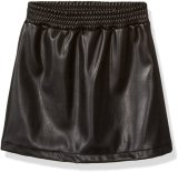 Classic Black A-Line Faux Leather Sexy Women Mini Skirts Hot Sales and Top Ranking Leather Skirts for Ladies Girls