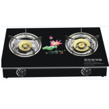 Nice Design 7mm Glass Top Gas Cooker (JP-GCG226)
