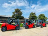 Diesel Hydraulic Automatic Transmission Counterbalance Gasoline Forklift Truck 6ton