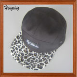 Custom Woven Label Leporad 5 Panels Hat