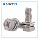 Stainless Steel Cross Recessed Hexagon Bolt Assemblies