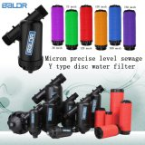 Y Type Micron Precise Level Drip Irrigation Gearden Golf Course Lake River Disc Water Filter