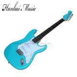 Hanhai Music / Blue St Style Electric Guitar with Reverse Headstock
