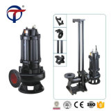7.5kw 2 Inch Electrical Non-Clogging Portable Vertical Sewage Drainage Pump