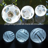 Various Sizes of Basketball and Volleyball Crystal Glass Ball Crafts