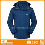 Men′s 3 in 1 High Quality Waterproof Warm Winter Sport Jacket