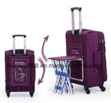 Trolley Wheeled Luggage Travel Bag Case with Small Seat (CY3405)