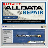 Auto Car Repair Software with 750GB HDD Alldata and Mitchell
