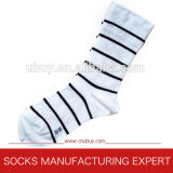 Ladies′ Casual Socks in Cotton
