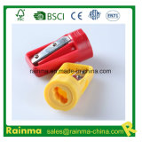 Single Hole Plastic Carpenter Pencil Sharpener with Customized Logo