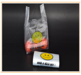 Biodegradable Packaging T-Shirt Thank You Cheap Shopping Custom Printed Plastic Bags