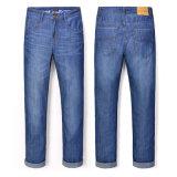 Wholesale Men's Fashion Cotton Brand Stock Jeans