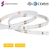 140lm/W High Luminous Efficacy Flexible LED Strip with UL TUV Ce RoHS