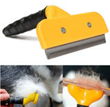 Stainless Steel Remove Float Long Hair Cat Pets Dog Comb Deshedding Grooming Brushtool