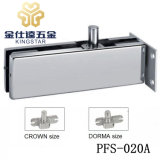 stainless steel top patch fitting for frameless door wall mounted pfs202A