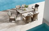 Yard Rattan Weaving Outdoor Chair and Table Dining Set