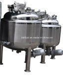 Stainless Steel Pharmaceutical Mixing Tank with Bottom Magnetic Mixer