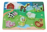 Wooden 3D Farm Puzzle Toy