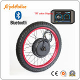 Bluetooth System 72V 3000W 3kw Ebike Electric Bike Kit with TFT Color Display