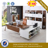 White Painting MDF School Executive Table Fashion Office Furniture (UL-MFC383)