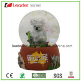 Water Ball Custom Snow Globe Koala for Promotional Gifts, Snow Globe Souvenir