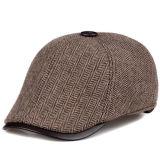 Fashion Wholesale Front Panel IVY Cap Men's Cap with Custom