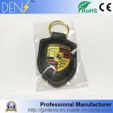 Car Fob Leather Key Ring Cover Keychains for Porsche