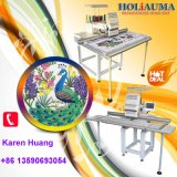 Holiauma Single Head Larger Flat 15 Needles High Speed Automatic Computerized Embroidery Machine Happy Type with Free Embroidery Designs for Cap