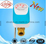 Direct Reading Remote Valve Control Water Meter (Light Blue Color)