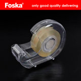 Plastic Transparent Stationery Tape with Dispenser