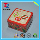 Food Grade Rectangular Tin Box for Chocolate Biscuit, Cookie Tin