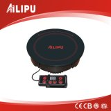 2000W drop in 220V round Shabu hot pot restaurant use electric induction cooker