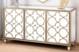 High Quality Reasonable Livingroom Furniture Stainless Steel Side Cabinet