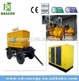 1000kw 800kw Waste Water Biogas Generator Power Plant
