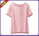 Fashion Sexy Cotton Printed T-Shirt for Women (W305)