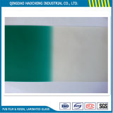 0.76mm Green on Clear PVB Interlayer for Automobile Windshield