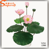 Garden Silk Decoration Beautiful Artificial Water Lily