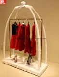 White Color Garment Rack, Wooden Rack, Coat Rack