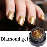 Nail Art Popular Shining Color Glitter UV Diamond Gel Polish