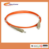 Fibre Optic SC/PC mm Duplex FTTH Fiber Optical Patch Cords