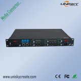 10g, Carrier-Grade, Managed Type Multiple Protocol Media Converter