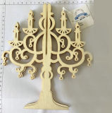 Wholesale Handmade Wooden Carving Craft Xmas Tree Hanging Ornament for Christmas and Home Decoration