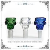 Glass Water Pipe Shisha Smoking Accessory Tobacco Pipes Thickness Skull Glass Bowl